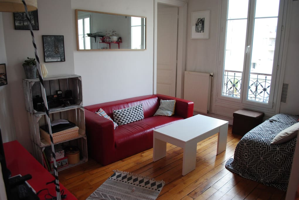 Le nid douillet appartements louer paris le de - Nid rouge lincroyable appartement paris ...