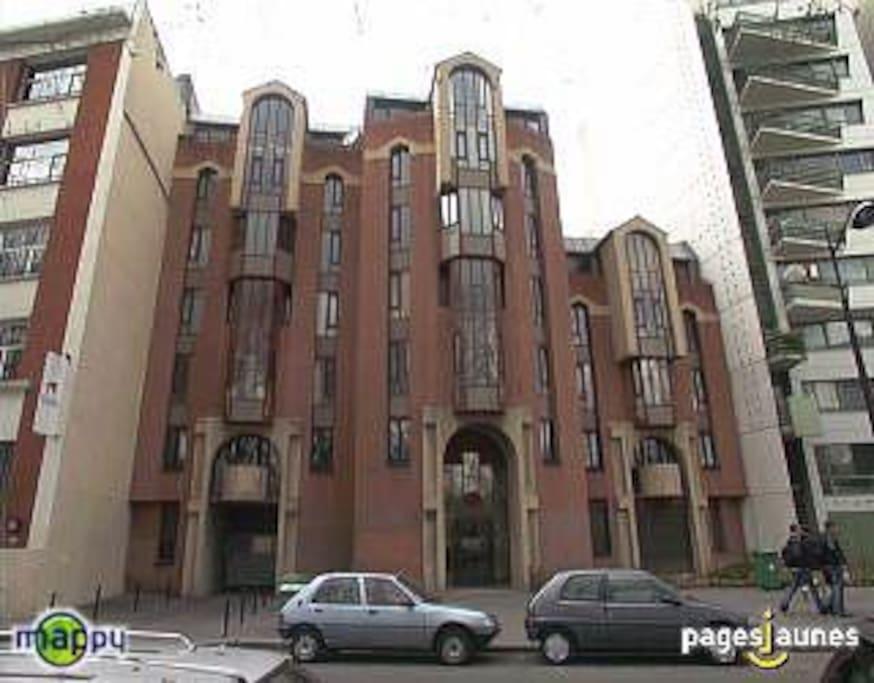 immeuble à l'architecture original