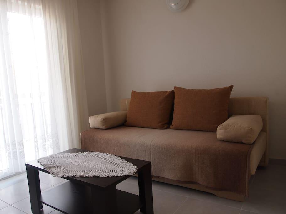 Apartman 1, resting area