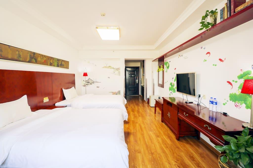 Nice Room 温馨的双床