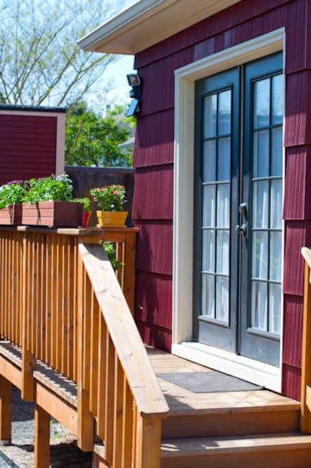 Your private garden entrance