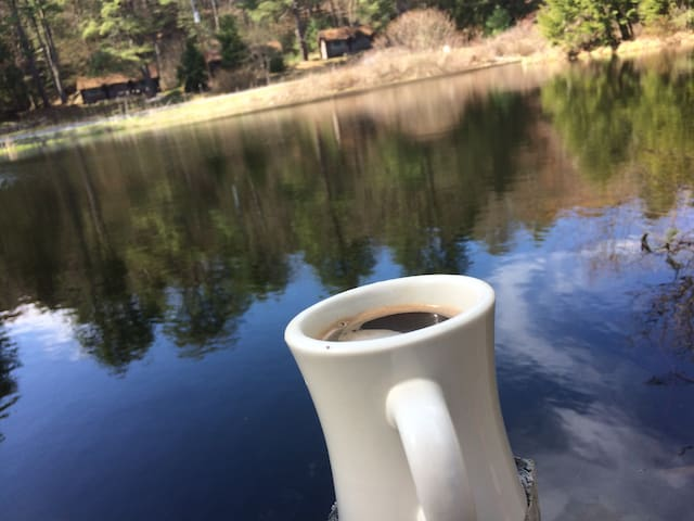 Coffee on the Bridge at Painted Pony Ranch