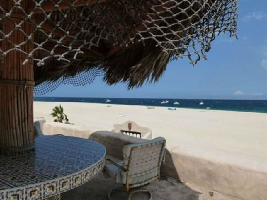 Beach Front Palapa Bar.  See yourself there?