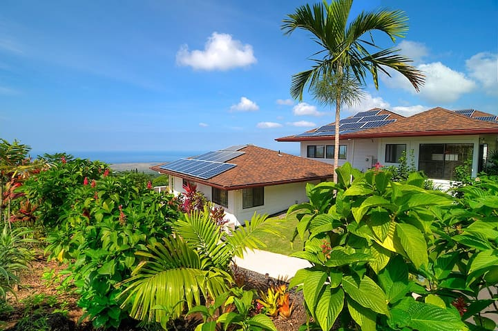 Luxury Coffee Farm Cottage - Pool - Hōlualoa - Dom