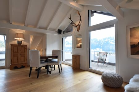 Beautiful penthouse apt in Laax with amazing views - Laax