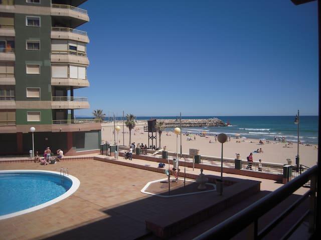 primera linea playa a 15 km - El Perelló - Lejlighed