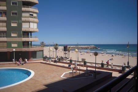 primera linea playa a 15 km - El Perelló - Apartamento
