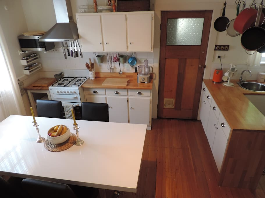 Shared kitchen/ dining