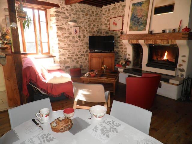 Maison de montagne avec clim Pyrénées Ariégeoises