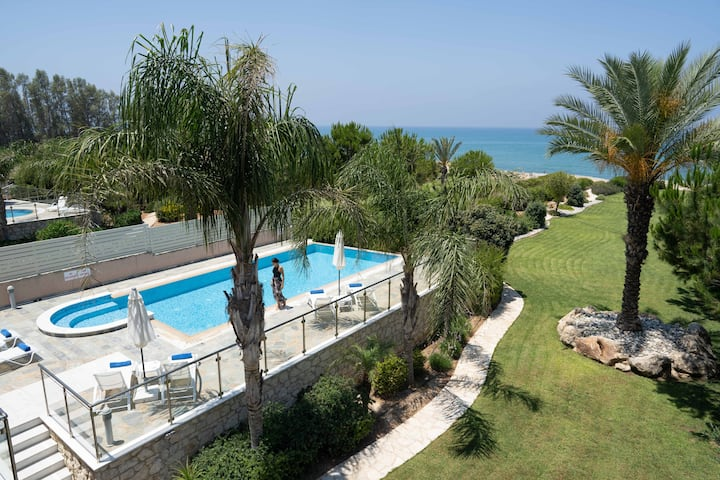 BF Limni Sandy Beach - Beach Front Villa Galene