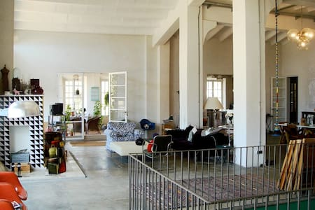 Huge space in rebuilt factory.    - Sóller - Loft