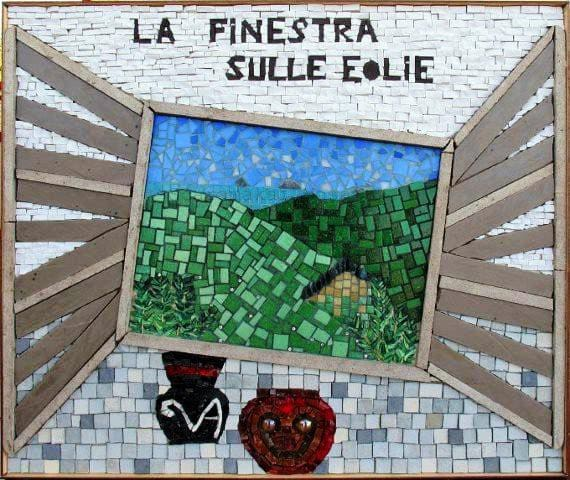 "Logo ""La Finestra sulle Eolie"""