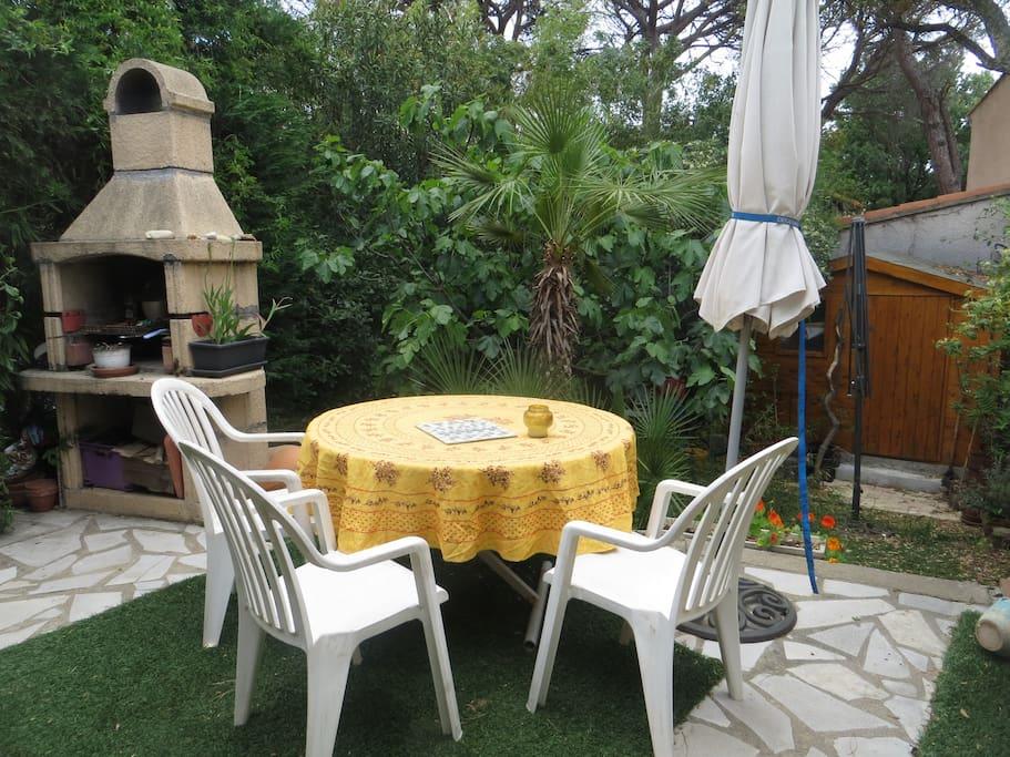 Jardin: terrasse