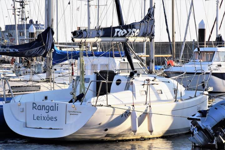 Sailing boat-Marina PORTO Atlântico-WIFI&Parking