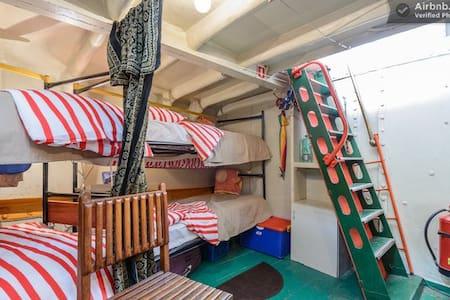 Classic ship cabin