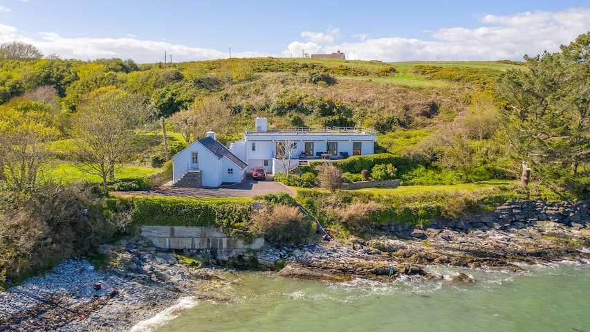 Delightful Waterside House in Rural Irish Setting