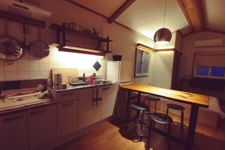 강원도 안흥 시골집, 내 마음 속 작은 방 한 칸, '칸'에서 오롯한 쉼을 채워가세요.