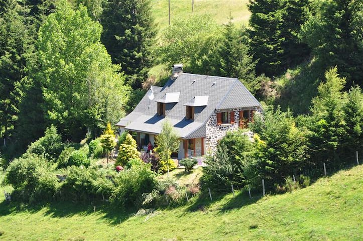 Farmhouse Auvergne Mountainview - Le Claux
