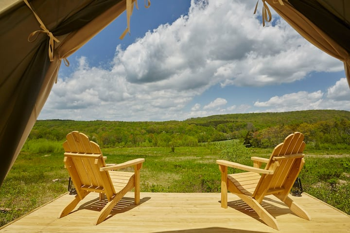 Tentrr Signature Site - Camp Haven: Meadow Retreat   Now Open
