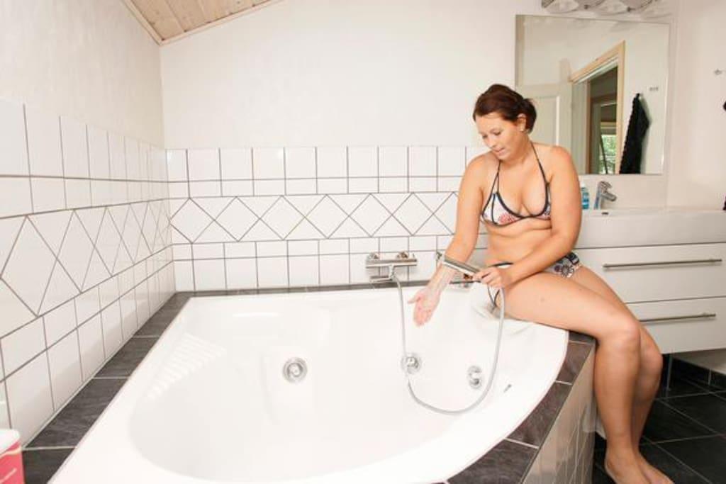 Ægte Italiensk Jacuzzi massage spa