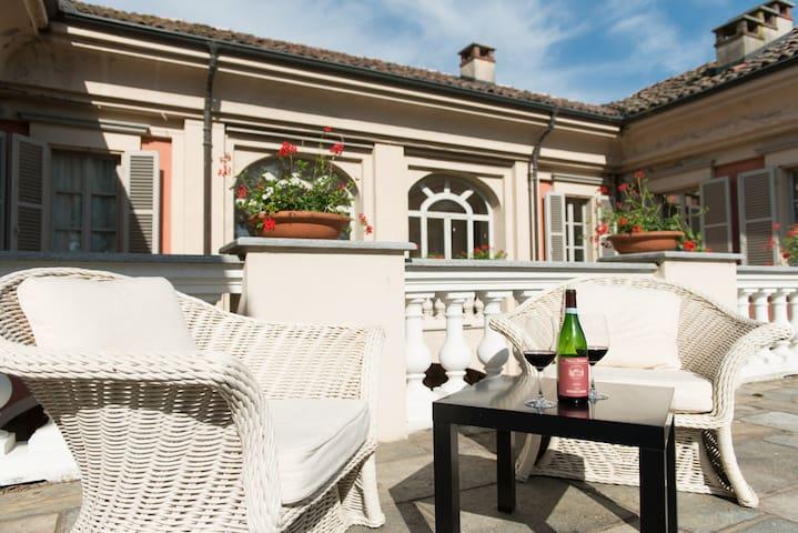 Apt 2 Villa Langhe and Monferrato - Castello di Annone - Apartamento