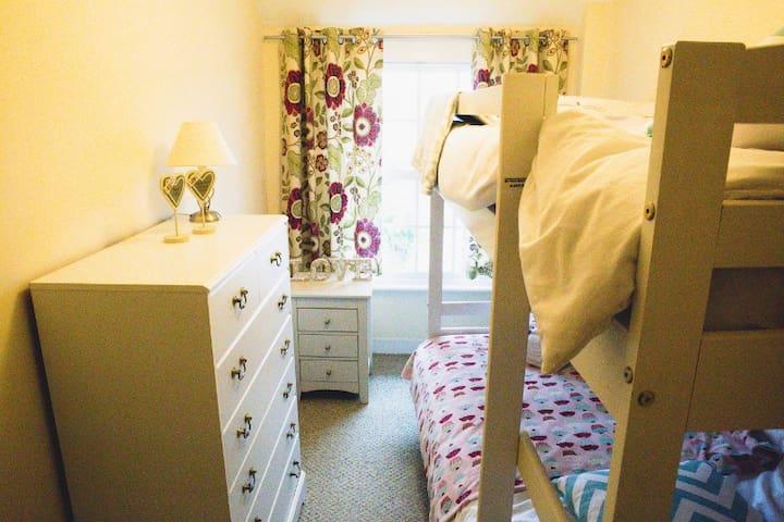 Bedroom number 2 with bunk beds