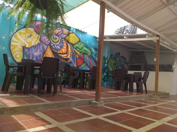 Akualink Hostel: Cama habitacion compartida 6.