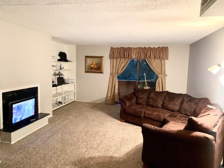Spacious 1 Bedroom apt. very quiet area