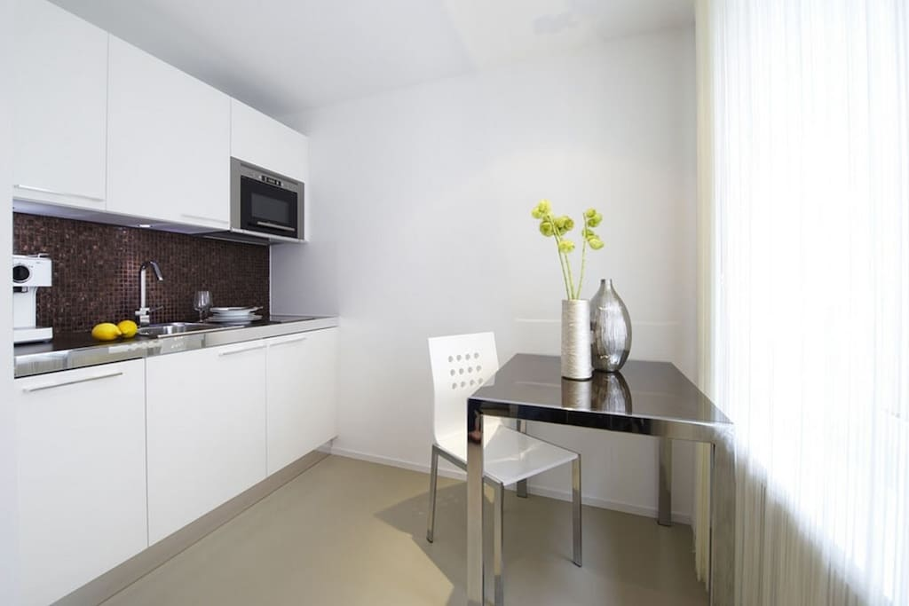 Please note that we have more than one apartment in this building. :) Pictures are for guidance only and show the standard, design and furnishing style.