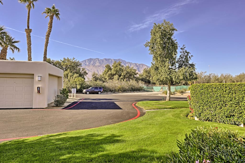 Located within the Desert Princess community, you'll have access to a wide range of amenities and a picturesque view!