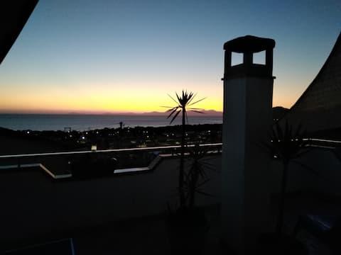 Casa Maja Terrasse mit Meerblick