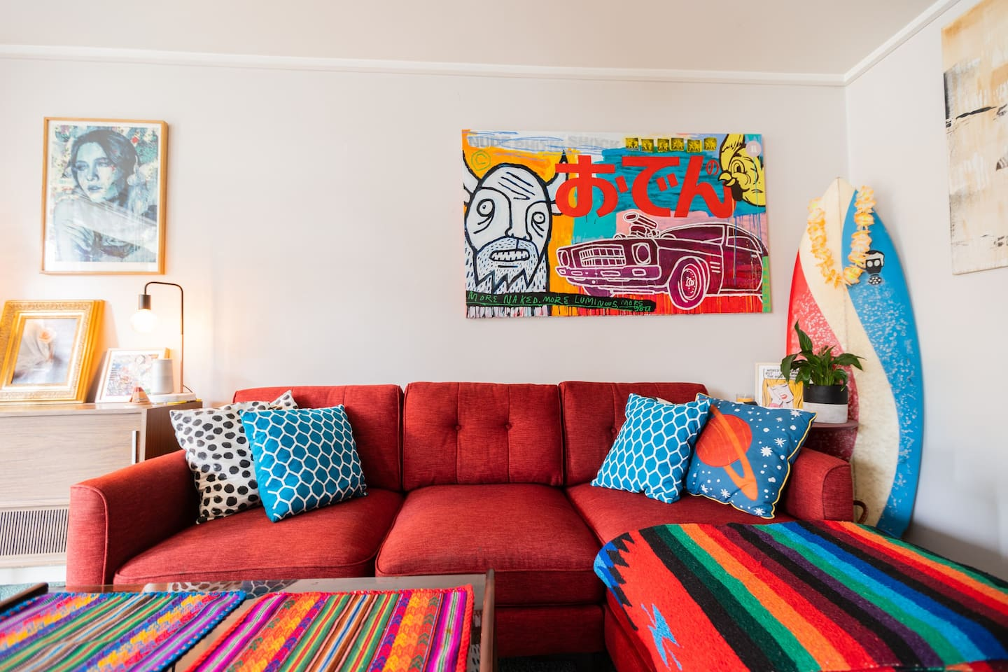 Welcome to our home. Lots of little artistic touches aroud the apartment. Fitzroy is an amazing suburb just north of the CBD.