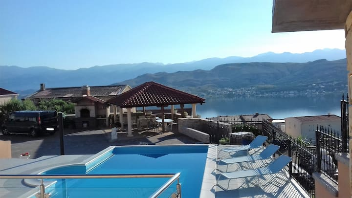 Villa Ivita 3,beautiful view,pool