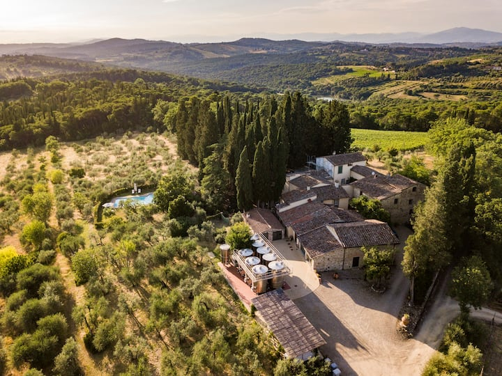 beautiful house in Chianti Classico
