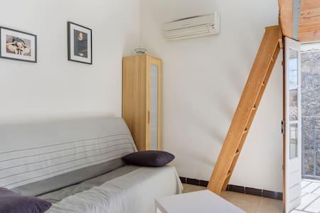 studio climatisé centre pieton - Sanary-sur-Mer - 公寓