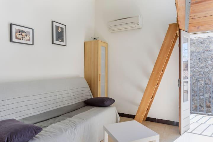 studio climatisé centre pieton