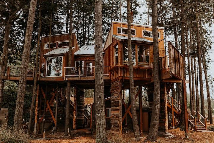 Treehouse on the Water -Eagles Nest