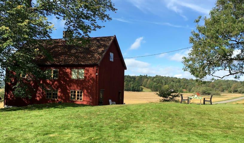 Brålands Gård vid Örekilsälven m. vacker natur nr2