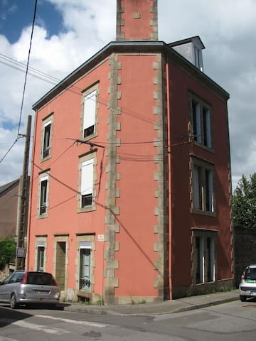 House located in the city with a view on the bay