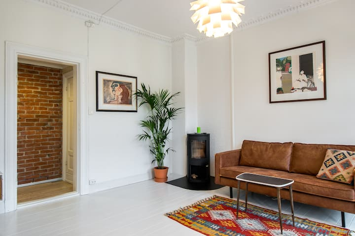 Charming and classic apartment at St. Hanshaugen - Oslo - Appartement