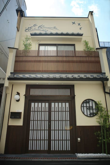 Traditional Japanese House-建筑正面