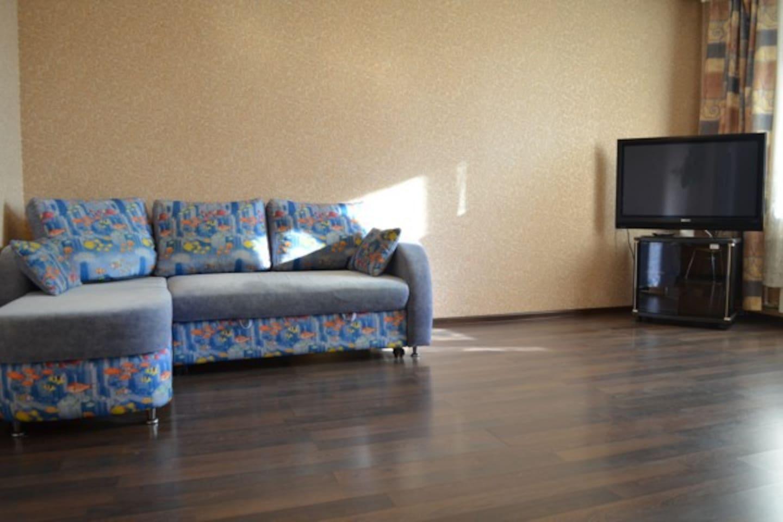 Просторная 1-комнатная квартира в новом доме в 5 минутах от центральной площади Ленина