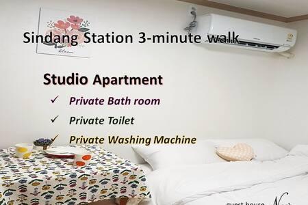 Noah #2 Shindang-st. 3min walk / studio apartment
