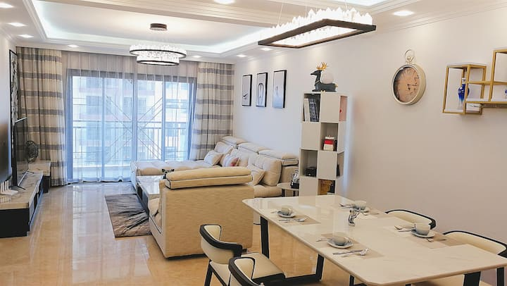 【Rachel 's home】luxious apartment for 8 people