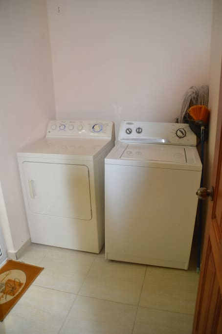washer and dryer , perfect for snowbirds in winter months