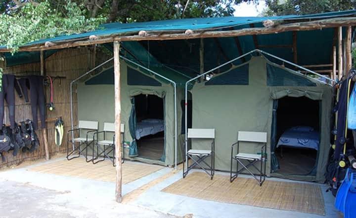 PONTA BEACH CAMPS- SAFARI TENTS