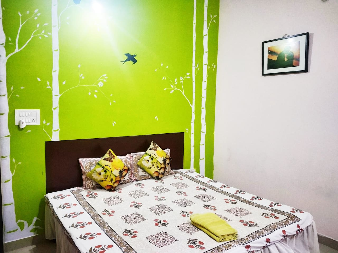The room with the perfect abeyance for relaxation and joy.