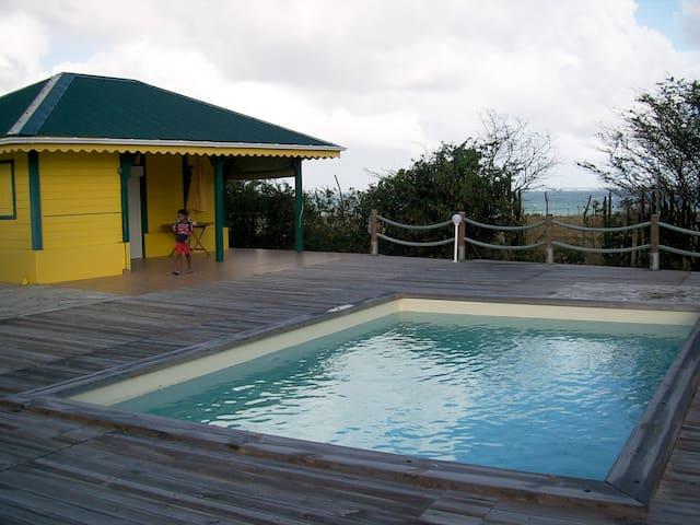 Les bungalows de la Pointe Faula