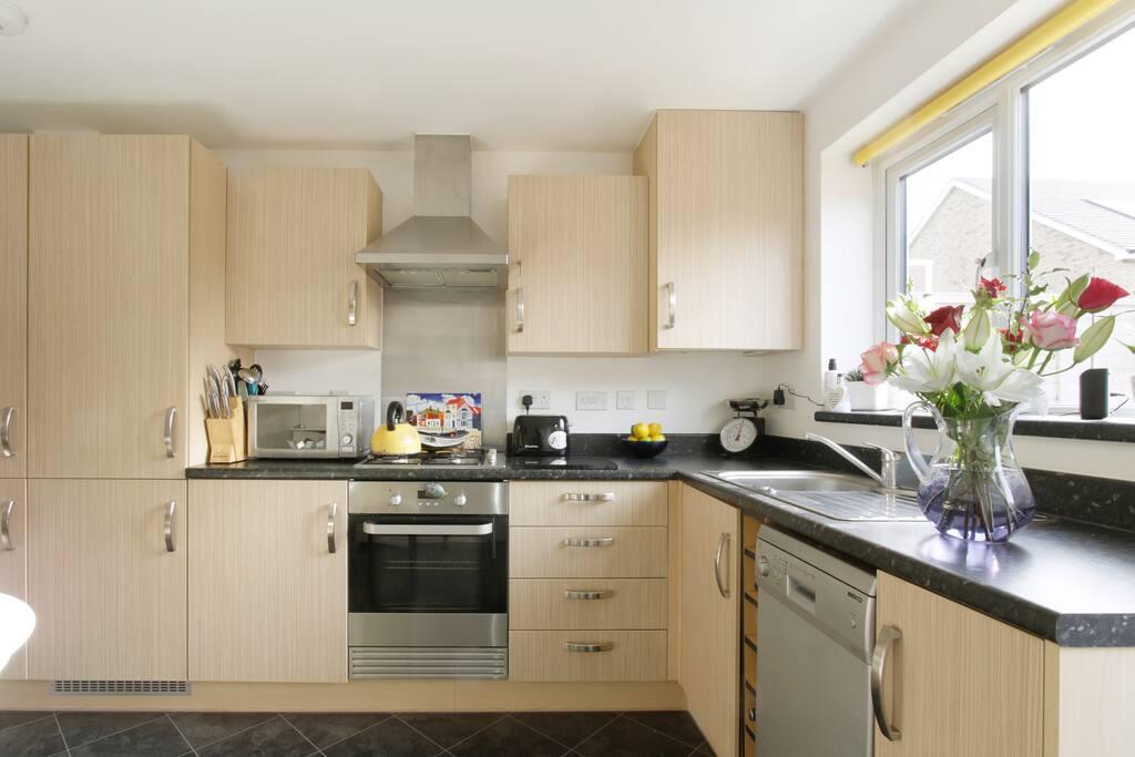 Modern kitchen - all mod cons