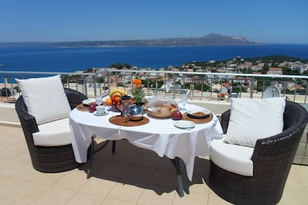 Harmonia Luxury Villa - Stunning Views - Plaka